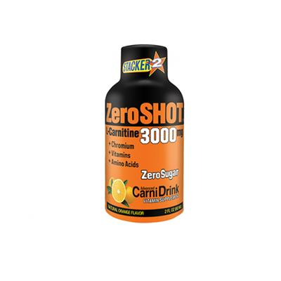 ZeroShot 3000mg Portakal 60ml