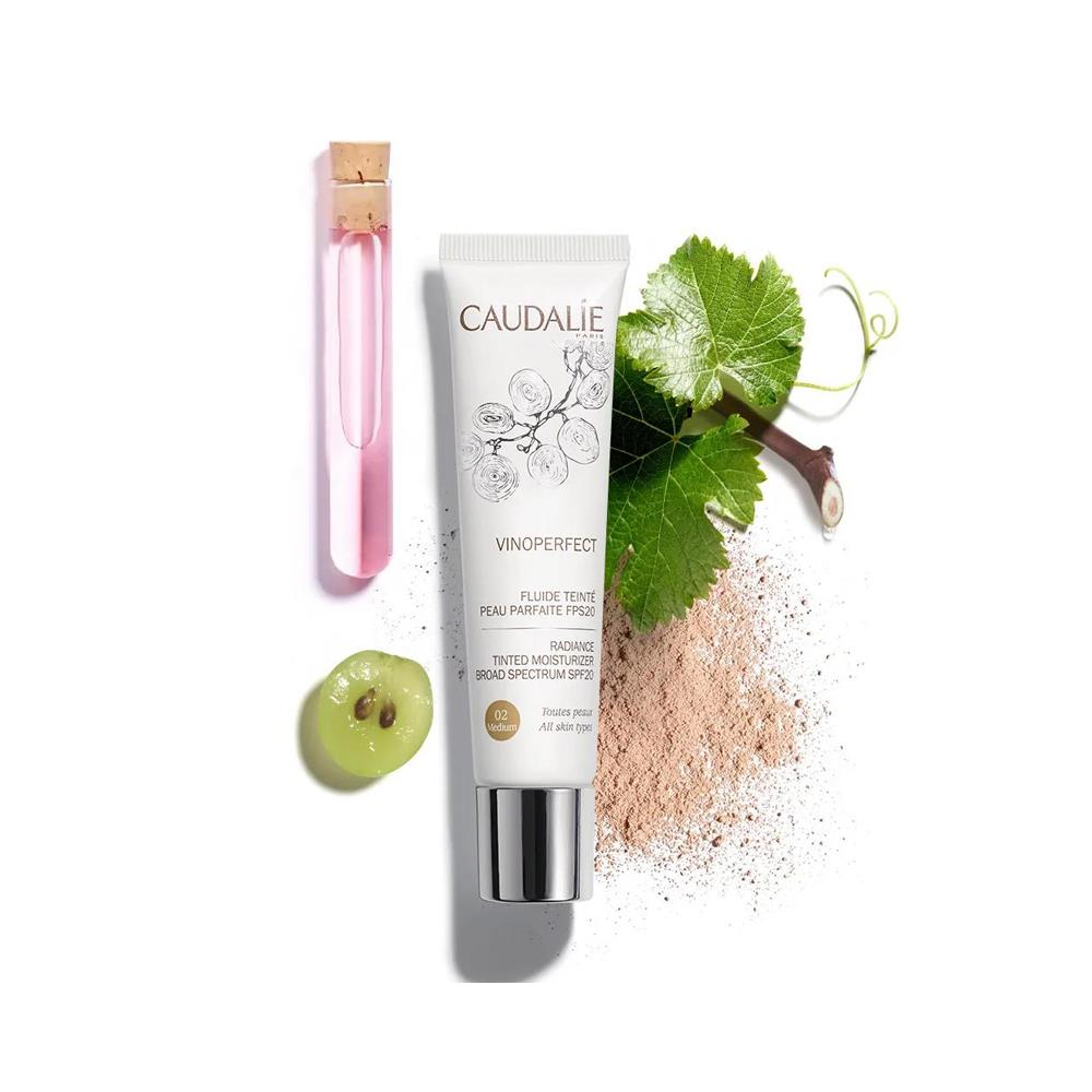 Caudalie Vinoperfect Medium Renkli Nemlendirici Fuild 40ml