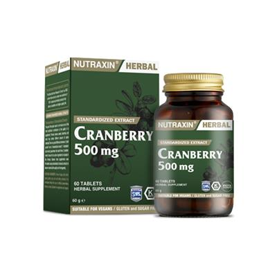 Nutraxin Cranberry 500 Mg 60 Tablet