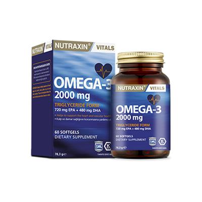 Nutraxin Omega3 2000 Mg 60 Softgel