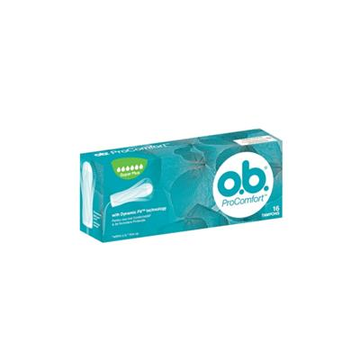 O.B. ProComfort Super Plus Tampon 16 Adet