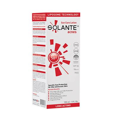 Solante Acnes Sun Care Lotion SPF 50+ 150ml