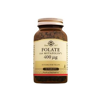 Solgar Folate 400ug 50 Tablet