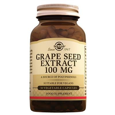 Solgar Grape Seed Extract 100 Mg 30 Tablet