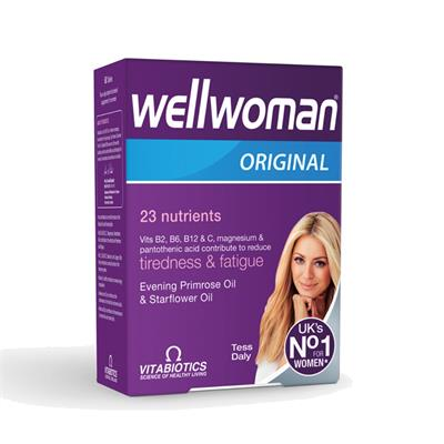 Vitabiotics Wellwoman Energy Release & immune Function 60 Tablet
