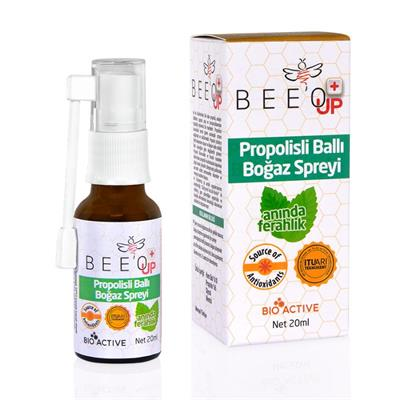 Bee'o Up  Propolisli Sprey Takviye Edici Gıda 20 ml