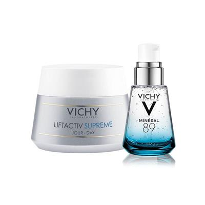 Vichy Liftactiv Supreme PS 50 ml + Mineral 89 Serum 30 ml Avantajlı Set